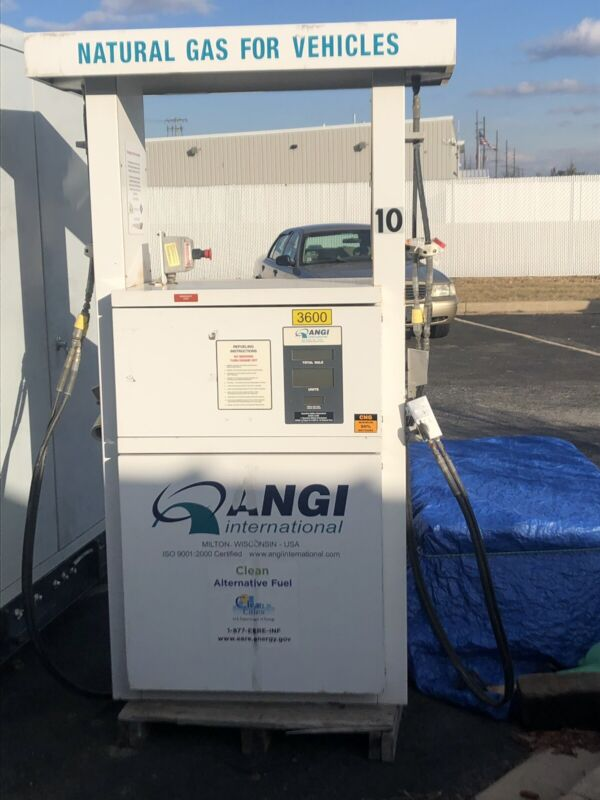 Angi 2 hose CNG dispenser moving sale reduced