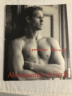 "Abercrombie & Fitch Quarterly Back To School 1999 ""Semester Abroad"" Issue"