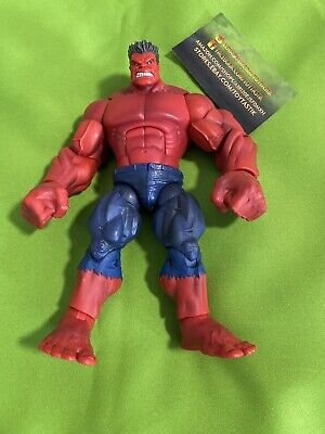Hasbro Marvel Legends Red Hulk BAF Action Figure Loose