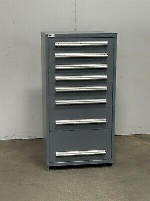 Used Stanley Vidmar 8 Drawer Cabinet Industrial Tooling Parts Storage 2418