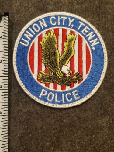 Vintage Union City Police Patch - Tennessee