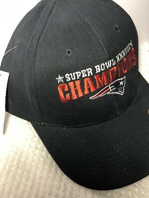 43fde1bafd5 NE PATRIOTS AFC SUPER BOWL XXXVI  36  CHAMPIONS Cap Hat Vintage NEW Tom  Brady