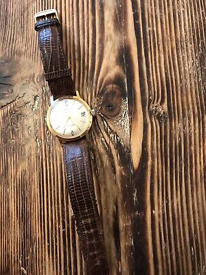 Vintage automatic Anker Watch With Original Longines Teju Strap