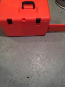 Husqvarna chainsaw/chain saw  and case new mint