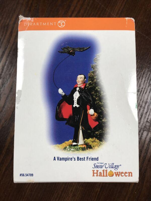 Dept 56 Halloween Village Accessory ~ A VAMPIRE