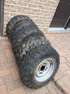 4 pneus VTT  usagé