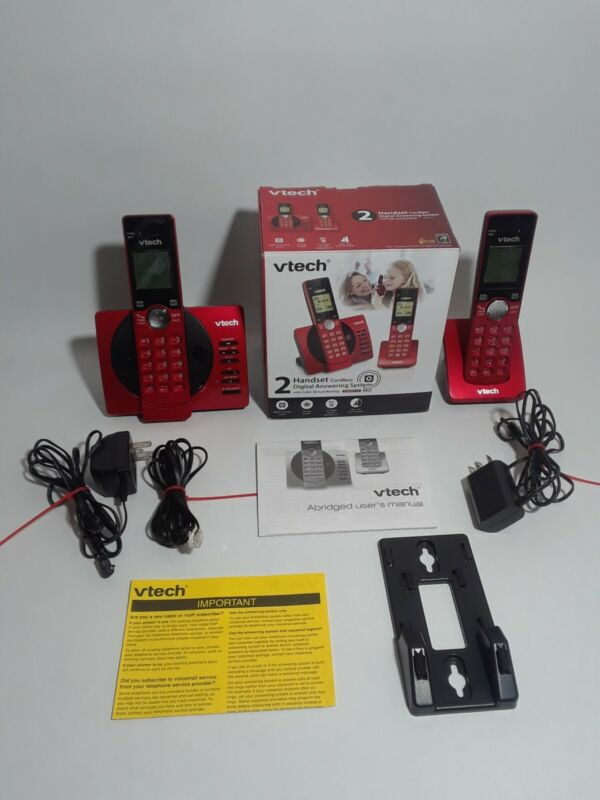 VTech CS6929-26 Cordless Answering System with Caller ID/Call Waiting 2 Handsets