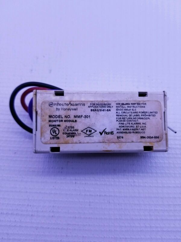 Honeywell Fire-Lite Alarms MMF-301 Monitor Module