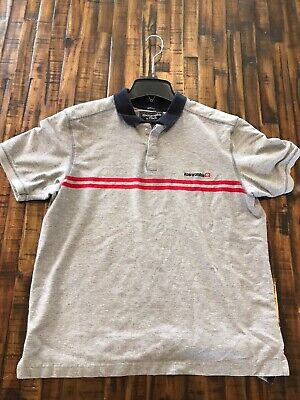 Abercrombie And Fitch Mens Muscle Polo Shirt Size Medium