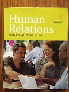 Human Relations 4th Canadian Edition