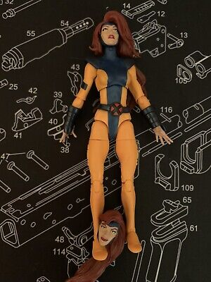 "JEAN GREY LOOSE From 3-Pack Marvel Legends 6"" Action Figure 80 Years X-men"