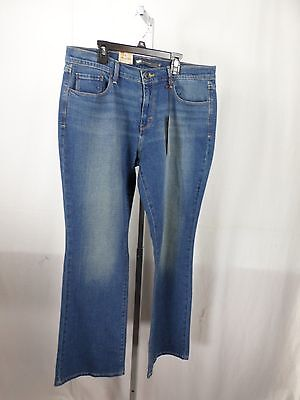 Dirty Wash Stretch Jeans - NWT Levi's Misses 515 Bootcut in Vintage Dirty Blue Wash Stretch Jeans 14 M x 32