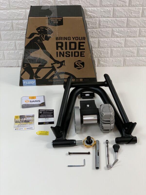 Nearly New $300 Saris CycleOps Fluid2 Indoor Bike Trainer 9904T
