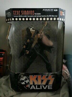 NEW McFarlane Toys Gene Simmons 18-inch Figure KISS Alive Series