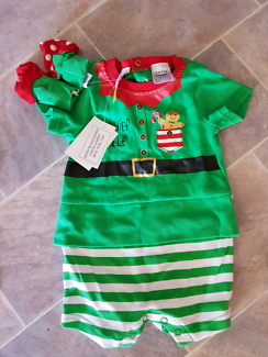 Baby Christmas romper sets