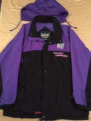 Jimmy Buffett Tour Hoodie Carnival Tour 1998 Black Purple XL 1 owner Very Good!