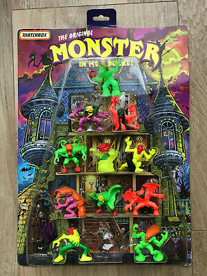 Matchbox Monster in my Pocket Serie 4 11 Figuren im Display Super Scary