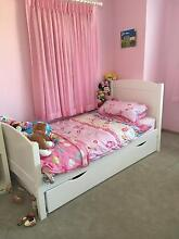 White single bed Iluka Joondalup Area Preview