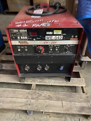 Lincoln Cv-250 Welder 3 Phase.