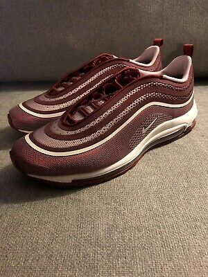 bb6bb3f12e Nike Air Max 97 Ultra 17 Team Red White 918356-601 Men's Size 12