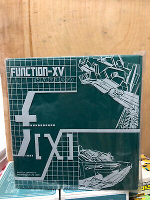 NEW Transformers FPJ FansProject Function-XV MADLAW Quickswitch Figure In Stock