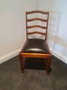 BLACKWOOD Dining chairs spring seat base in very good condition