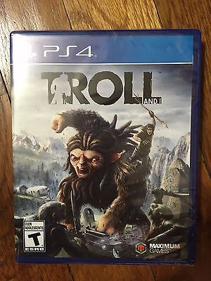 Troll and I (Sony PlayStation 4, 2017) USED