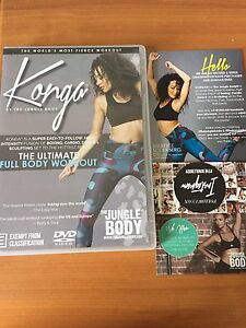 Authentic konga dance class DVD cd Stirling Stirling Area Preview