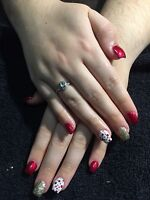 Gel and acrylic nail special !!!