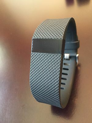 Fitbit Charge Heart Rate (HR) Large Black, Dongle & Cord