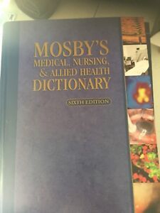 Most basic medical nursing and allied health dictionary