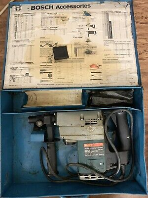 Bosch 11203 1 12 Rotary Hammer Usa Made 115v. Used. With Case. Free Shipping