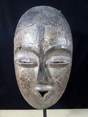Old Tribal Ibiobio Mask Fes-Gb 1143