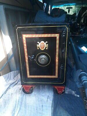 Rare antique Meilink Queen size floor safe home deposit collectible cash box