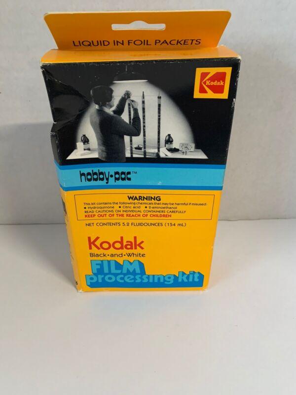 Kodak Black And White Film Processing Kit- New Old Stock- Complete- Vintage