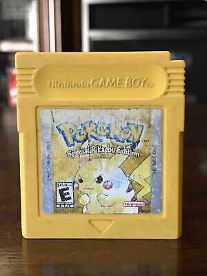 Pokemon Yellow Special Pikachu Edition (Authentic)