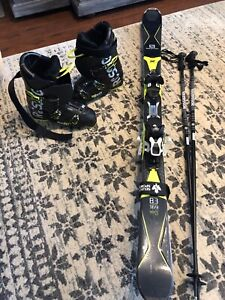 Mens Downhill Skis, Boots, Poles - Nearly New!!