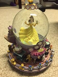 Beauty and the Beast be my guest snowglobe OBO