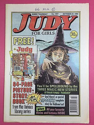 JUDY - Stories For Girls - No.1607 - October 27, 1990 - Comic Style Magazine