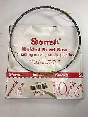 Starrett Carbon Stee Lwelded Band Saw Blade 79 14 X 0.025 18 4 Skip 4l386
