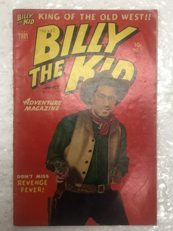 Billy The Kid #5 1951 Toby Western  Comic Book