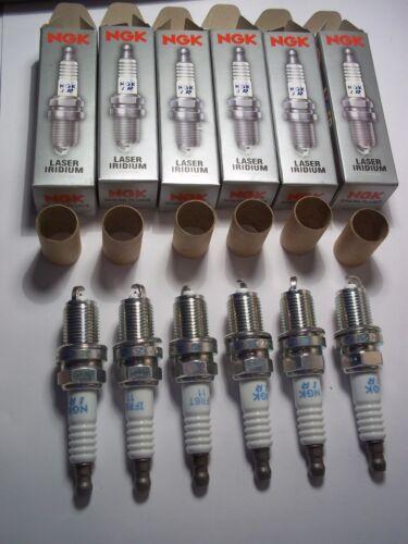 6 NGK IFR6T11 IRIDIUM SparkPlugs LEXUS IS200, GS300, RX300, RX400H, Toyota Camry