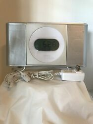 Memorex Digital AM/FM Stereo Clock Radio Front Load CD Dual Alarm (MC7101 )