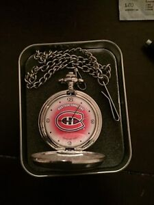 Montreal canadiens pocket watch