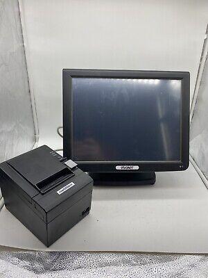 Partner Tech Sp-800 Pos Restaurant Terminal Vivonet W Printer