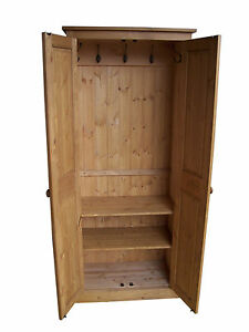Hallway Coat Shoe Hat Bag Storage Cabinet With Coat Hooks