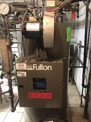 Natural Gas Steam Boiler Fulton 10 Hp.