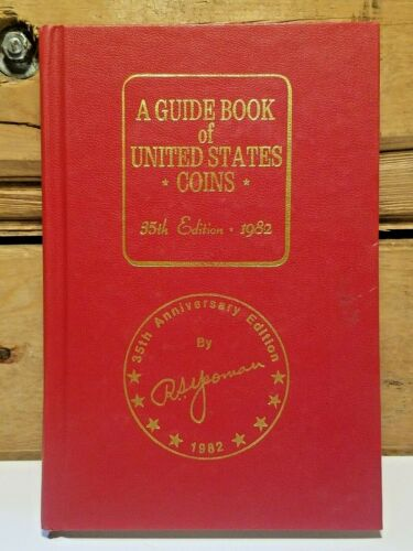 Vtg 1982 Guide Book of U S Coins 35th Anniversary Edition R S Yeoman Swanky Barn