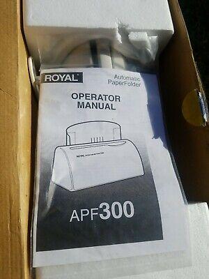 Royal Apr300 Automatic Letter Folder