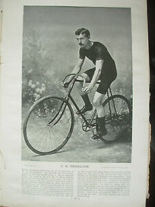 THE-SPORTFOLIO-PORTRAITS-1896-VINTAGE-CYCLING-PHOTOGRAPH-PRINT-C-G-THISELTON